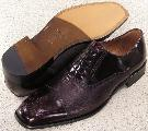 Picture of Mezlan Andrew Cap Toe Oxford (Burgundy)
