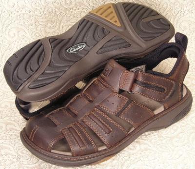 Picture of Clarks Charles Sandal (Brown)