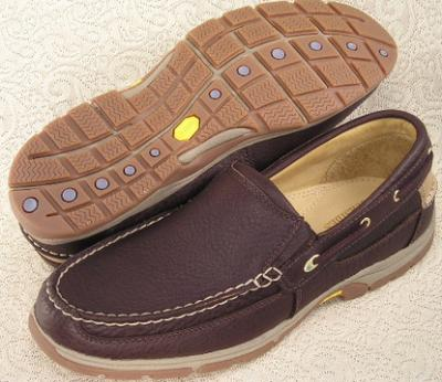 Picture of Sebago Admiral Boat Shoe Slipon (Brown)
