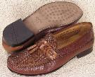 Picture of Brass Boot Adolfo Woven tassel