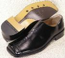 Picture of Zengara Wide Toe Slipon 30010 (Black)