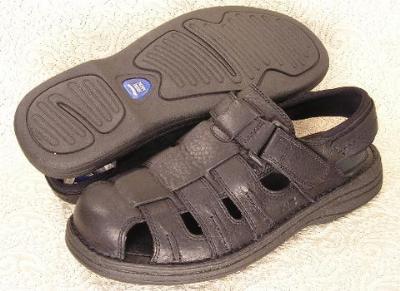Picture of Nunn Bush Closed Toe Sandal ( Black )
