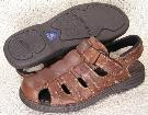 Picture of Nunn Bush Closed Toe Sandal ( Brown )