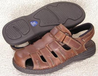 Picture of Nunn Bush Closed Toe Sandal ( Brown )