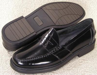 Picture of Nunn Bush Lincoln Penny Loafer (Black)