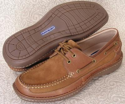 Picture of Nunn Bush Squall Boat Shoe (Oak)