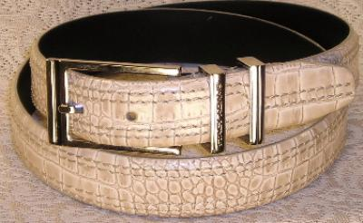 Picture of Stacy Adams Belt Croco 6 113 Ivo