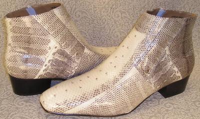 Picture of Giorgio Brutini SnakeZip Boot 15549 (Natural)