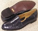 Picture of Giorgio Brutini Snake Slipon 15063 (Navy)