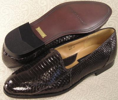 Picture of Giorgio Brutini Snake Slipon 15063 (Brown)