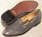 Picture of Giorgio Brutini Snake Slipon 15063 (Gray)