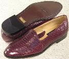 Picture of Giorgio Brutini Snake Slipon 15063 (Burgundy)