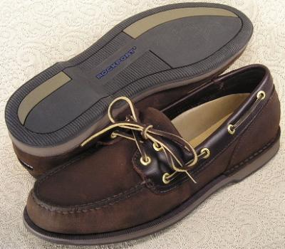 Picture of Rockport Perth Boat Shoe (Bark)