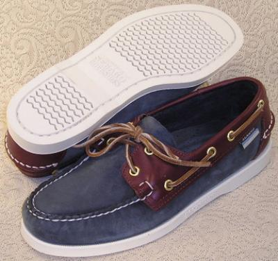 Picture of Sebago Dockside Spinnaker (Navy) 72852 M