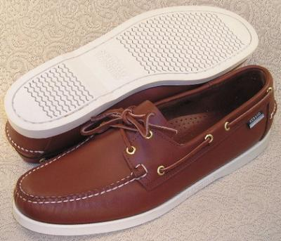 Picture of Sebago Docksides (Tan Calf) 72756 M