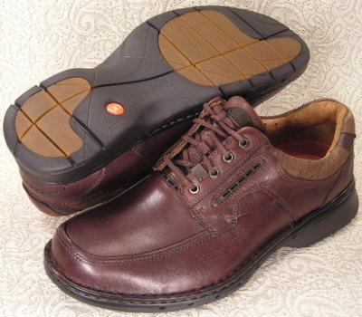 Picture of Clarks Un Bend Lace Oxford (Brown)