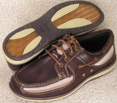 Picture of Bass H M S Boat Shoe (Brown)