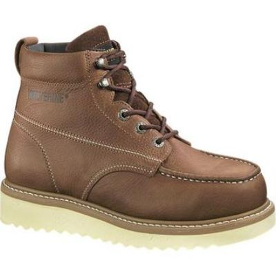 "Picture of Wolverine Moc Toe Wedge Boot 6"" (Steel Toe)"
