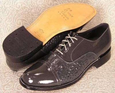 Picture of Stacy Baldwin Cap Toe Lace Oxford (Grey)