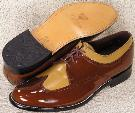 Picture of Stacy Baldwin Wingtip Blucher Oxford (Two/Tone)
