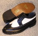 Picture of Brentano Spectator Wingtip (Black/White)