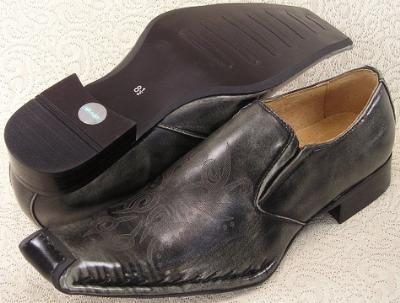 Picture of Bravo Fashions Chagall Slipon (Stone Washed Black)
