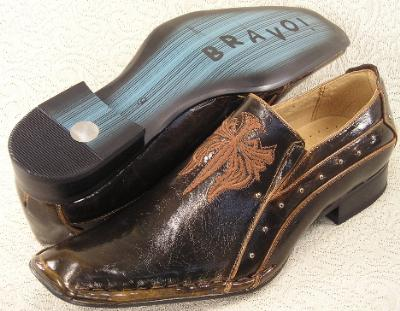 Picture of Bravo Fashions Geary Slipon ( Brown )