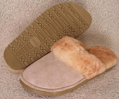Picture of Ciabatta Sheepskin Glide Slipper M