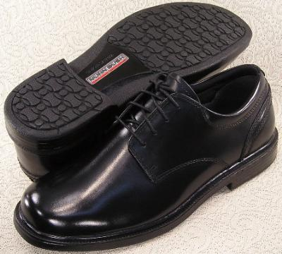 Picture of Nunn Bush Eddy Plain Toe Oxford (Black)