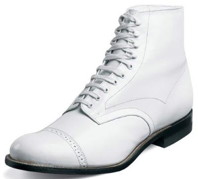 Picture of Stacy Adams Madison Lace Boot (White)