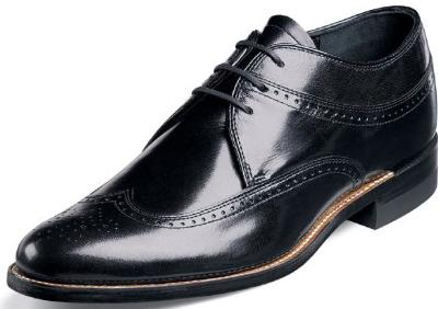 Picture of Stacy Adams Dayton Wingtip (Black)