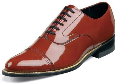 Picture of Stacy Adams Concorde Cap Toe Oxford (Rust)
