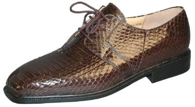Picture of Giorgio Brutini Snake Oxford 15522 (Brown)