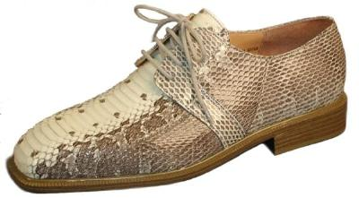 Picture of Giorgio Brutini Snake Oxford 15522 (Natural)