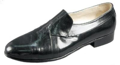 Picture of Giorgio Brutini Pleated Slipon 244381 (Black)
