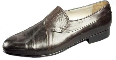 Picture of Giorgio Brutini Pleated Slipon 244382 (Brown)