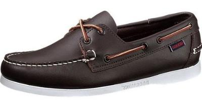 Picture of Sebago Docksides (Wine Calf) 72753 M