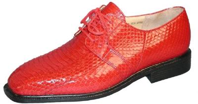 Picture of Giorgio Brutini Snake Oxford 15522 (Red)