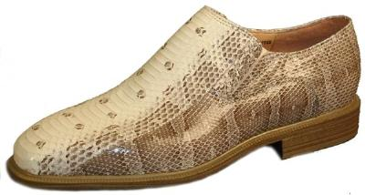 Picture of Giorgio Brutini Snake Slipon 15521 (Natural)