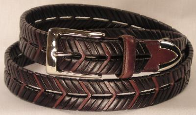 Picture of Johnston Murphy Belt Woven Calf