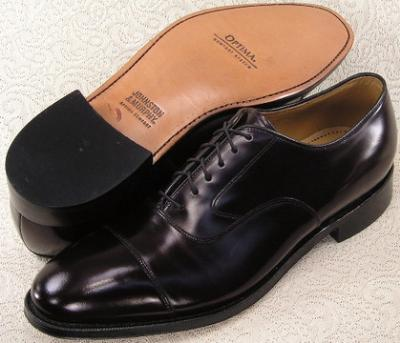Picture of Johnston Murphy Melton Cap Toe (Burgundy)