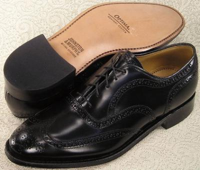 Picture of Johnston Murphy Waverly Wingtip (Black)