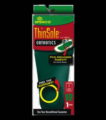 Picture of Spenco ThinSole Orthotic 3/4