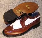 Picture of Brentano Spectator Wingtip (Tan/White)