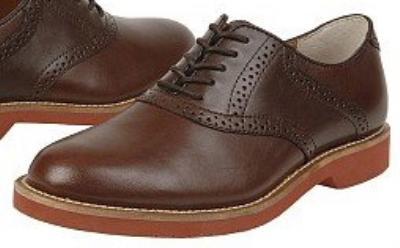 Picture of Bass Burlington Saddle Shoe (Brown Calf)
