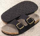 Picture of Ciabatta Ultimate Cork Sandal (Black NuBuck)