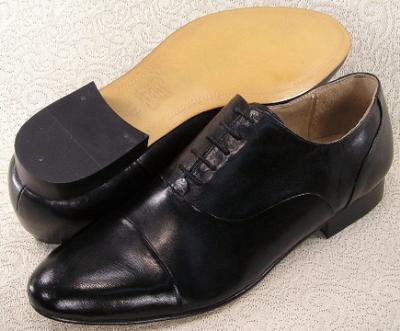 Picture of Giorgio Brutini Cap Toe Oxford 24440 (Black)