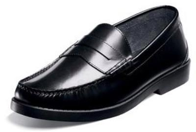 Picture of Nunn Bush Baker Penny Slipon (Black)