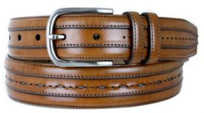 Picture of Mezlan 8297 Belt Calfskin (Tan)