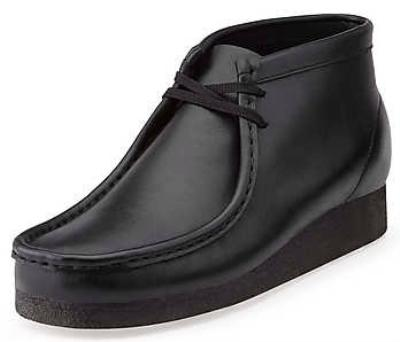 Picture of Clarks Wallabee Boot Original (Black Calf)